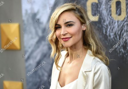 """Samaire Armstrong arrives at the world premiere of """"King Arthur: Legend of the Sword"""" at the TCL Chinese Theatre, in Los Angeles"""