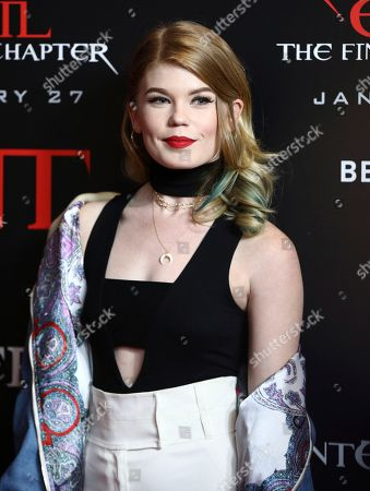 """Jody Steel arrives at the world premiere of """"Resident Evil: The Final Chapter"""" at Regal L.A. Live, in Los Angeles"""