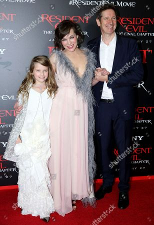 """Editorial image of World Premiere of """"Resident Evil: The Final Chapter"""" - Arrivals, Los Angeles, USA - 23 Jan 2017"""