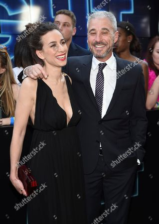 """Stock Photo of Director Lucia Aniello, left, and producer Matthew Tolmach attend the world premiere of Columbia Pictures' """"Rough Night"""" at AMC Loews Lincoln Square, in New York"""