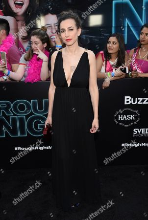 """Director Lucia Aniello attends the world premiere of Columbia Pictures' """"Rough Night"""" at AMC Loews Lincoln Square, in New York"""