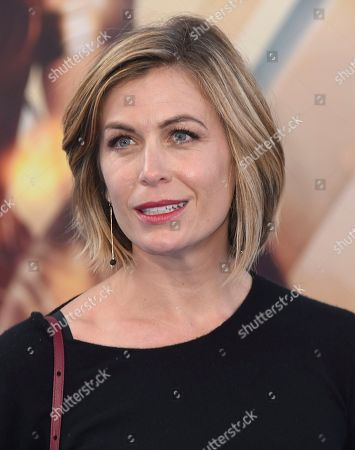 """Sonya Walger arrives at the world premiere of """"Wonder Woman"""" at the Pantages Theatre, in Los Angeles"""