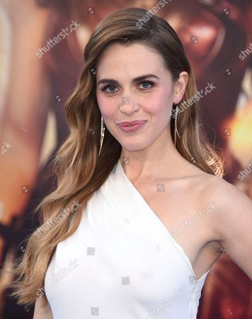"Stock Picture of Alexandra Siegel arrives at the world premiere of ""Wonder Woman"" at the Pantages Theatre, in Los Angeles"