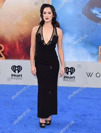 """Samantha Jo arrives at the world premiere of """"Wonder Woman"""" at the Pantages Theatre, in Los Angeles"""