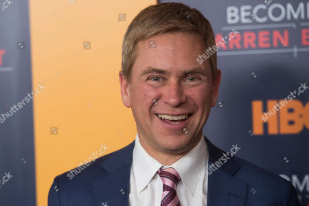 "Pat Kiernan attends the world premiere screening of HBO's ""Becoming Warren Buffett"" at The Museum of Modern Art, in New York"