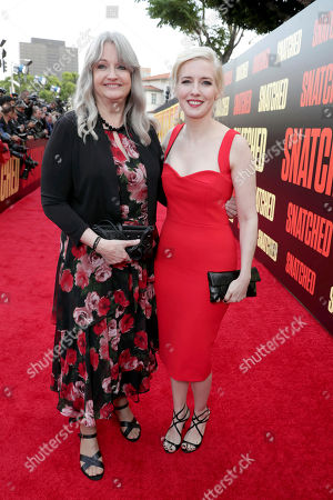 "Stock Image of Executive Producer/Writer Katie Dippold seen at World Premiere of Twentieth Century Fox ""Snatched"" at Regency Village Theatre, in Los Angeles"