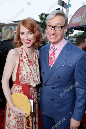 """Producer Jessie Henderson and Producer Paul Feig seen at World Premiere of Twentieth Century Fox """"Snatched"""" at Regency Village Theatre, in Los Angeles"""