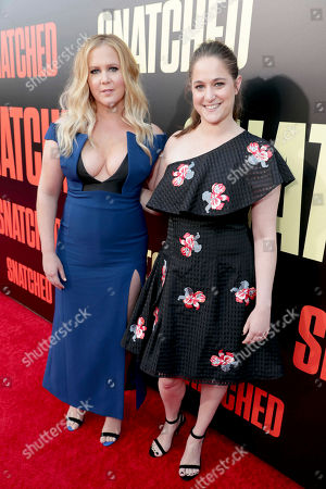 """Editorial image of World Premiere of Twentieth Century Fox """"Snatched"""", Los Angeles, USA - 10 May 2017"""