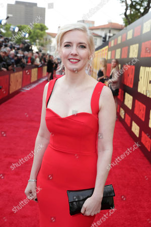 "Executive Producer/Writer Katie Dippold seen at World Premiere of Twentieth Century Fox ""Snatched"" at Regency Village Theatre, in Los Angeles"