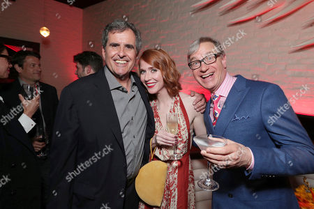 """Producer Peter Chernin, Producer Jessie Henderson and Producer Paul Feig seen at World Premiere of Twentieth Century Fox """"Snatched"""" after party, in Los Angeles"""