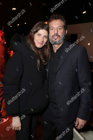 """Michelle Alves and Guy Oseary seen at World Premiere of Twentieth Century Fox """"Snatched"""" after party, in Los Angeles"""
