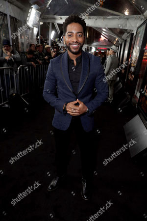 """Shaun Brown seen at the World Premiere of Warner Bros. """"Live by Night"""" at TCL Chinese Theater, in Los Angeles"""
