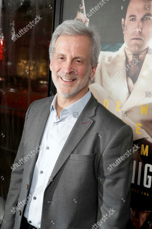"""Film Editor William Goldenberg seen at the World Premiere of Warner Bros. """"Live by Night"""" at TCL Chinese Theater, in Los Angeles"""
