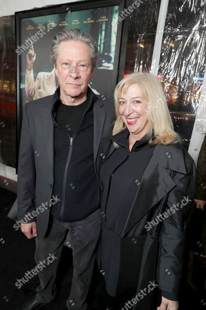 """Chris Cooper and Marianne Leone seen at the World Premiere of Warner Bros. """"Live by Night"""" at TCL Chinese Theater, in Los Angeles"""