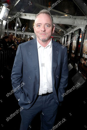 "Author/Executive Producer Dennis Lehane seen at the World Premiere of Warner Bros. ""Live by Night"" at TCL Chinese Theater, in Los Angeles"