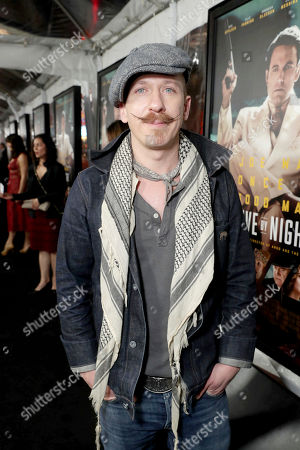 "Foy Vance seen at the World Premiere of Warner Bros. ""Live by Night"" at TCL Chinese Theater, in Los Angeles"