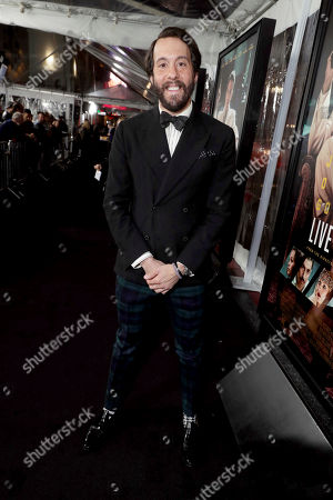 "Jonathan Kite seen at the World Premiere of Warner Bros. ""Live by Night"" at TCL Chinese Theater, in Los Angeles"