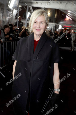 """Stock Photo of Costume Designer Jacqueline West seen at the World Premiere of Warner Bros. """"Live by Night"""" at TCL Chinese Theater, in Los Angeles"""