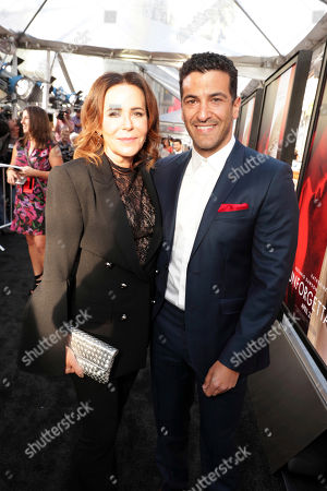 "Director/Producer Denise Di Novi and Simon Kassianides seen at Los Angeles World Premiere of Warner Bros. Pictures' ""Unforgettable"" at TCL Chinese Theatre, in Los Angeles"