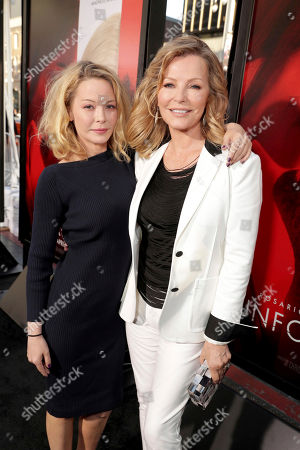 "Jordan Ladd and Cheryl Ladd seen at Los Angeles World Premiere of Warner Bros. Pictures' ""Unforgettable"" at TCL Chinese Theatre, in Los Angeles"