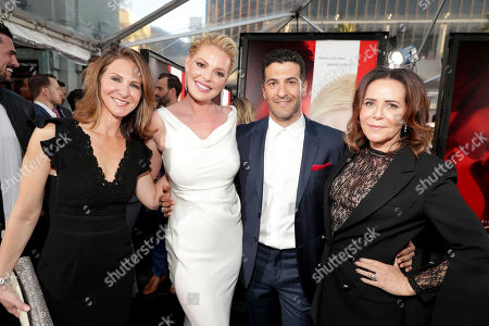 "Producer Alison Greenspan, Katherine Heigl, Simon Kassianides and Director/Producer Denise Di Novi seen at Los Angeles World Premiere of Warner Bros. Pictures' ""Unforgettable"" at TCL Chinese Theatre, in Los Angeles"