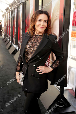 """Director/Producer Denise Di Novi seen at Los Angeles World Premiere of Warner Bros. Pictures' """"Unforgettable"""" at TCL Chinese Theatre, in Los Angeles"""