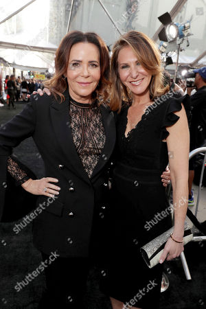 "Director/Producer Denise Di Novi and Producer Alison Greenspan seen at Los Angeles World Premiere of Warner Bros. Pictures' ""Unforgettable"" at TCL Chinese Theatre, in Los Angeles"