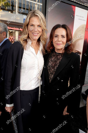 "Stock Photo of Executive Producer Lynn Harris and Director/Producer Denise Di Novi seen at Los Angeles World Premiere of Warner Bros. Pictures' ""Unforgettable"" at TCL Chinese Theatre, in Los Angeles"