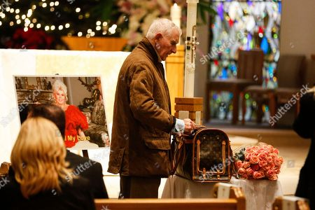 """Prince Frederic Von Anhalt attends Zsa Zsa Gabor's """"Celebration of Life"""" memorial service at the Good Shepherd Church, in Beverly Hills, Calif. Zsa Zsa Gabor died at the age of 99 on Dec. 18, 2016"""