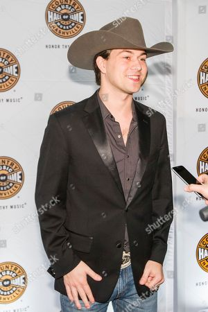 """William Michael Morgan arrives at the """"American Currents"""" Exhibit opening at the Country Music Hall of Fame and Museum, in Nashville, Tenn"""