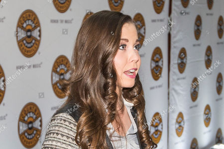 """Sierra Hull arrives at the """"American Currents"""" Exhibit opening at the Country Music Hall of Fame and Museum, in Nashville, Tenn"""