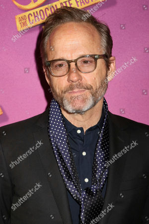 "Stock Photo of John Benjamin Hickey attends Roald Dahl's ""Charlie and the Chocolate Factory"" Broadway opening night at the Lunt-Fontanne Theater on Sunday April, 23, 2017, in New York"