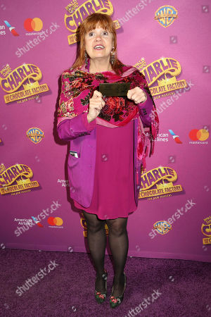 """Annie Golden attends Roald Dahl's """"Charlie and the Chocolate Factory"""" Broadway opening night at the Lunt-Fontanne Theater on Sunday April, 23, 2017, in New York"""