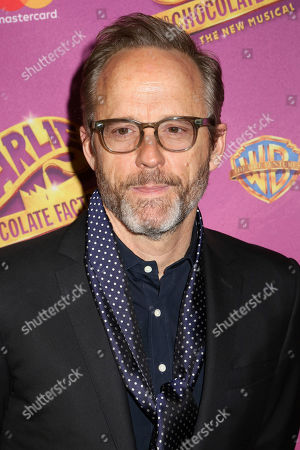 "John Benjamin Hickey attends Roald Dahl's ""Charlie and the Chocolate Factory"" Broadway opening night at the Lunt-Fontanne Theater on Sunday April, 23, 2017, in New York"