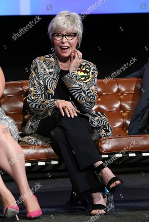 """Stock Image of Rita Moreno seen at """"The Power of TV: A Conversation with Norman Lear and Netflix original series 'One Day at a Time' """" ATAS Panel at the Wolf Theater at Saban Media Center, in Los Angeles"""