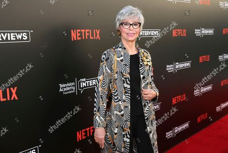 """Rita Moreno seen at """"The Power of TV: A Conversation with Norman Lear and Netflix original series 'One Day at a Time' """" ATAS Panel at the Wolf Theater at Saban Media Center, in Los Angeles"""