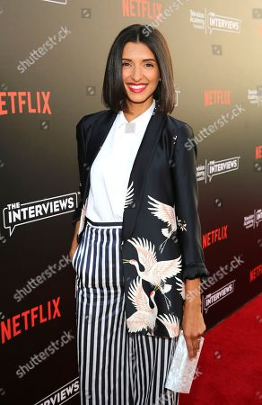 """India de Beaufort seen at """"The Power of TV: A Conversation with Norman Lear and Netflix original series 'One Day at a Time' """" ATAS Panel at the Wolf Theater at Saban Media Center, in Los Angeles"""