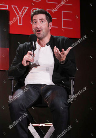 James S. Levine at 'The Music of Netflix' panel Q&A at Netflix FYSee exhibit space, in Los Angeles, CA