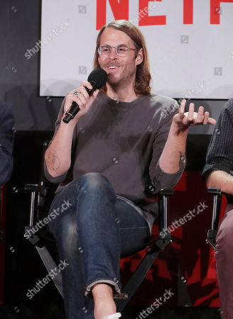 Zach Cowie at 'The Music of Netflix' panel Q&A at Netflix FYSee exhibit space, in Los Angeles, CA