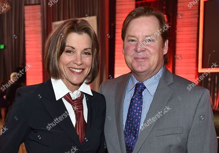 Wendie Malick, left, and Joel Murray attend the 16th Annual AARP Movies for Grownups Awards at the Beverly Wilshire Hotel, in Beverly Hills, Calif