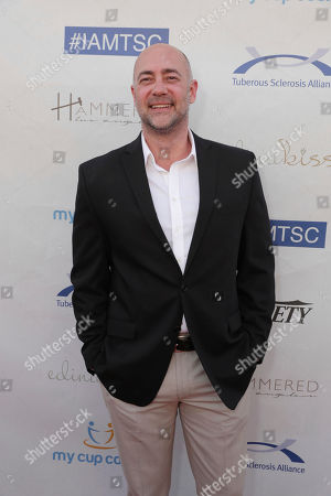 Alex Skuby seen at 16th Annual Comedy for a Cure at The Globe Theatre at Universal Studios Hollywood, in Los Angeles, CA