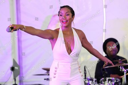 LeToya Luckett performs at the Cadillac Media Luncheon to Kickoff ABFF during the 2017 American Black Film Festival at Raleigh Hotel, in Miami Beach, Florida