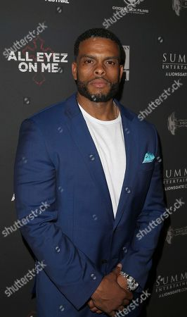 Benny Boom attends All Eyez On Me screening during the 2017 American Black Film Festival at Regal South Beach, in Miami Beach, Florida