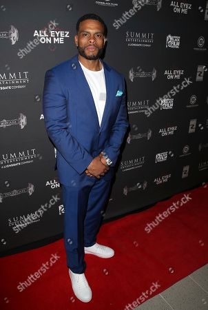 Stock Image of Benny Boom attends All Eyez On Me screening during the 2017 American Black Film Festival at Regal South Beach, in Miami Beach, Florida