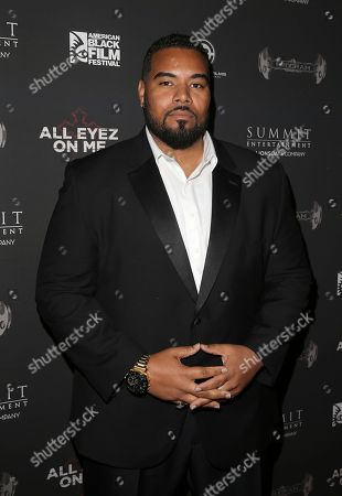 Dominic Santana attends All Eyez On Me screening during the 2017 American Black Film Festival at Regal South Beach, in Miami Beach, Florida