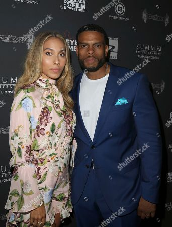 Ravyn Lotito Douglas and Benny Boom attend All Eyez On Me screening during the 2017 American Black Film Festival at Regal South Beach, in Miami Beach, Florida