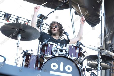 Artist Jesse Kongos of Kongos performs on the Bud Light Stage of the 2017 Beale Street Music Festival on in Memphis, Tenn