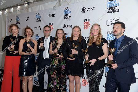 Editorial photo of 2017 Film Independent Spirit Awards - Press Room, Santa Monica, USA - 25 Feb 2017