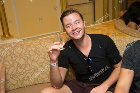 Sam Feldt seen on board the Carnival Victory during day 2 of the Groove Cruise cruise on in Miami