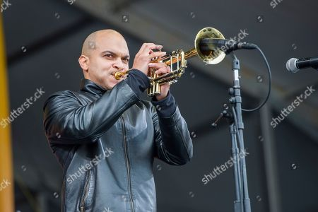 Irvin Mayfield performs at the New Orleans Jazz and Heritage Festival, in New Orleans